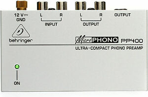 New-Behringer-Microphono-Phono-Preamp-PP400-Buy-it-Now-Make-Offer-Auth-Dealer