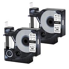 2pk For Dymo Rhino 42005200 Heat Shrink Tube 18051 Industry Label Tape 14x5