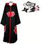 Indexbild 11 - Naruto AKATSUKI ROBE Cloak Uchiha Itachi Cosplay Costume Claok Cape Unisex S-XXL
