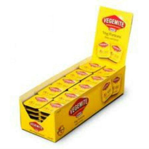 Vegemite - Box of 90 single serve portions - Australia's favourite snack