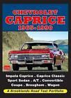 Chevrolet Caprice1965-1990 Road Test Portfolio by Brooklands Books Ltd (Paperback, 2010)