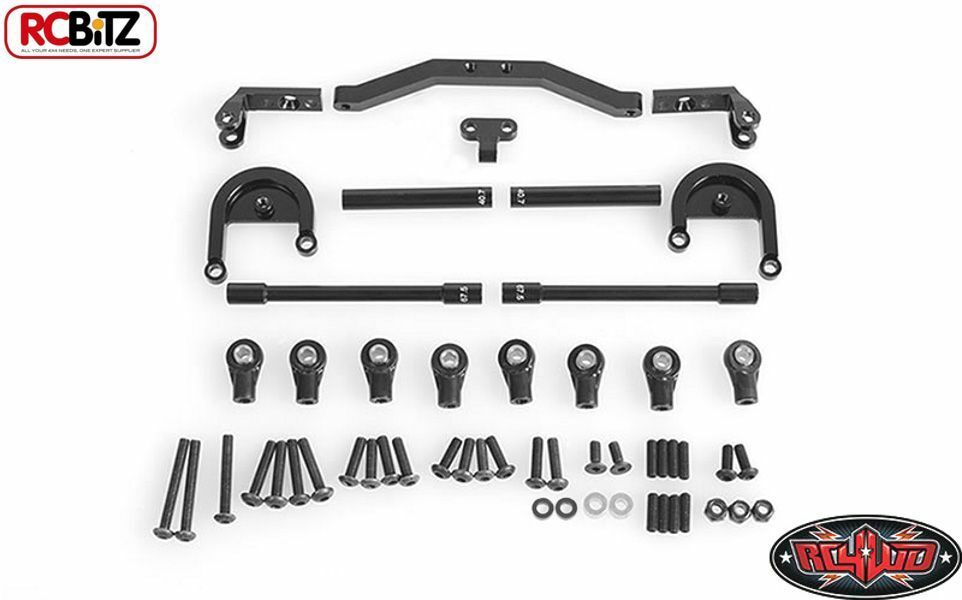 4 Link Kit For Trail Finder 2 Short WB Rear Axle COMPLETE RC4WD Z-S1053 TF2 SWB