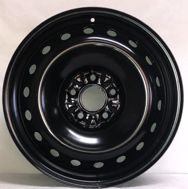 18 Inch 5 On 120 Black Steel Wheel Fits MDX RLX TL ZDX