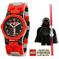 DARTH MAUL WATCH kids star wars lego MISB & minifigure minifig legos