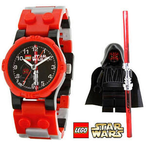 Darth Maul Watch Kids Star Wars Lego Misb Minifigure Minifig Legos Ebay