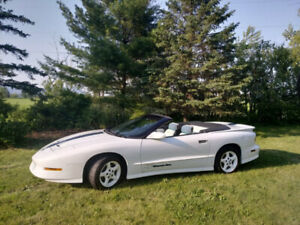 RARE 1994 Pontiac Trans Am 25th Anniversary Convertible