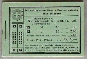 s622-Schweiz-Markenheftchen-MH-18-d-Pedolin-Chur-Unfall-Zuerich-MNH-postfrisch