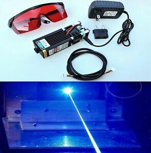 15W-Blue-Laser-Module-Head-Diode-450nm-For-CNC-Engraving-Cutter-Machine-Full-Kit