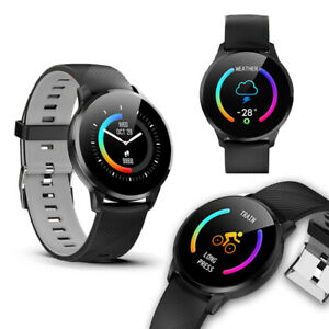 2020 HOT Bluetooth Smart Watch Heart Rate Monitor Fitness Tracker ~Great Gift!