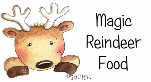 Magic Reno etiquetas de alimentos Mini X 65-lindo Diseño-Navidad ferias Etc