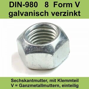 M14 DIN 934 Sechskantmuttern A2 Edelstahl V2A VA Sechskant Muttern 20-500 St.