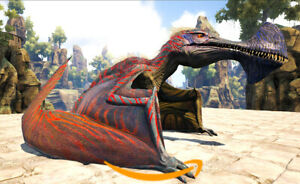 Ark-Survival-Evolved-PC-PVE-NEW-FIRE-Colored-Tropeognathus-Level-200