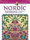 Adult Coloring: Creative Haven Nordic Designs Collection Coloring Book by Dover and Jessica Mazurkiewicz (2015, Paperback)