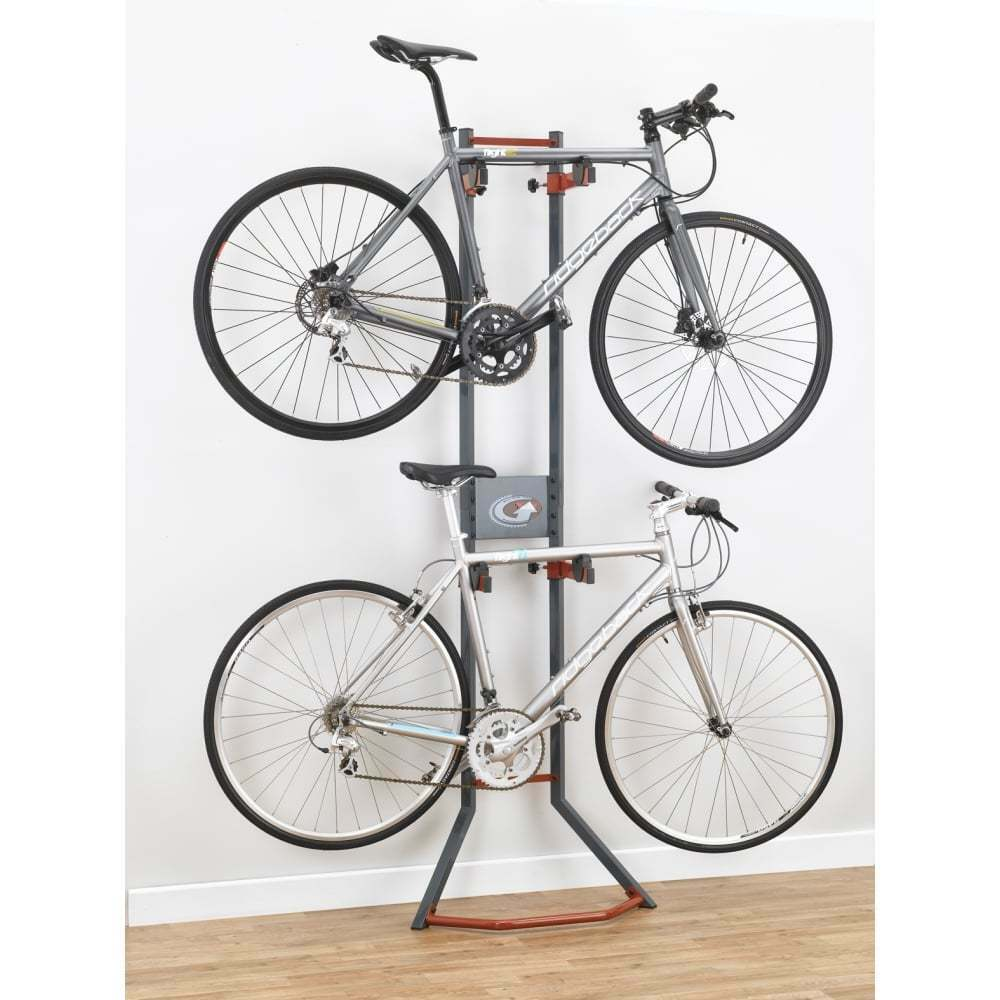 Gear Up Platinum Steel 2-bike Cycling Cycle Bike Gravity Stand