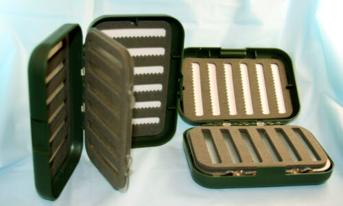 Fly Boxes Centre Swing Leaf Fly Boxes Give Double Capacity of Standard Box Trout