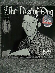 Bing-Crosby-The-Best-Of-Bing-MCL-1607-Vinyl-LP-Compilation