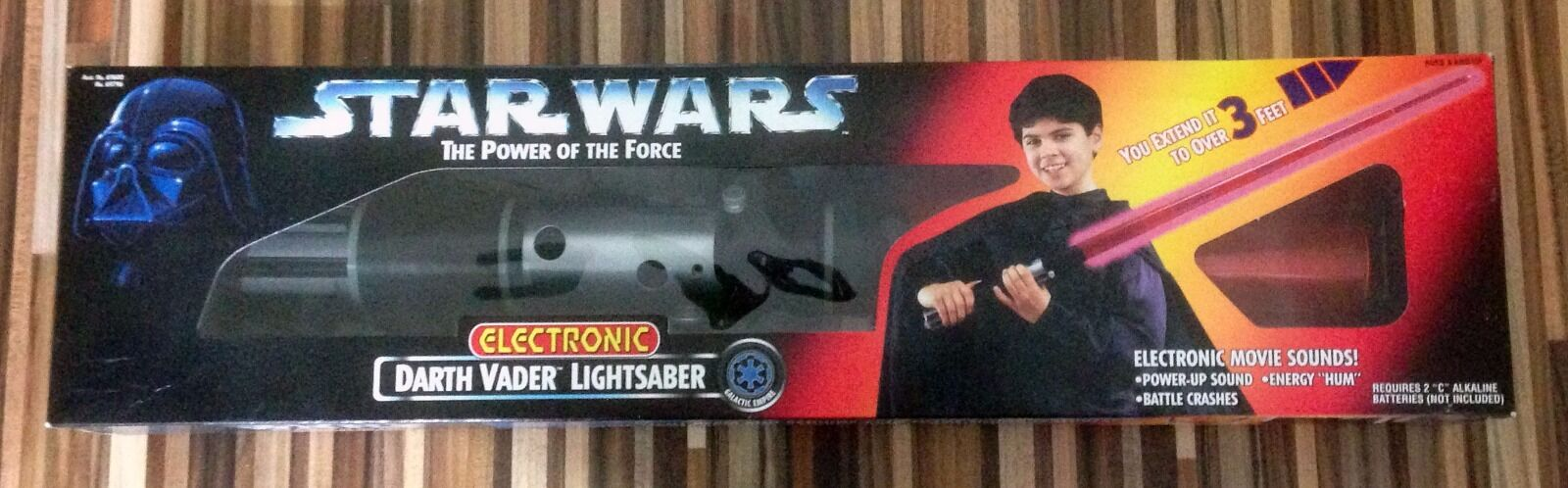 Darth Electronic Vader Electronic Darth Lightsaber 1996 feda6d