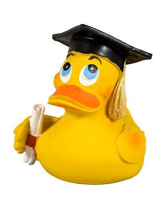 Gelernt Badeente Lanco Diplom Bachelor Absolvent * Master Quietscheente Abschluß