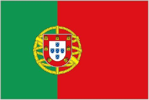 Portugal new 5 X 3 HOUSE FLAG 2 eylets for flying european european Portuguese