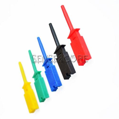 5PCS 5 Colors Hooks Test Clips for Logic Analyzers Logic Test Clip