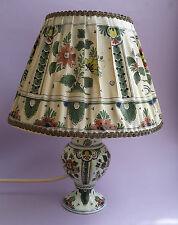 Joost Thooft  De Porceleyne Fles Lampe  Delft polychrom 1959