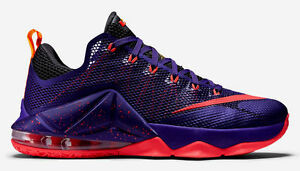 official photos ed0cd 2904a Image is loading NIKE-LEBRON-12-XII-LOW-Size-10-COURT-
