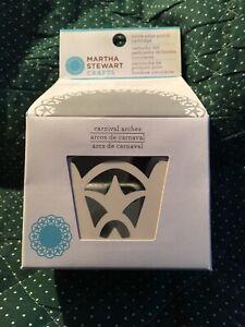 Martha-Stewart-Circle-Edge-Punch-Cartridge-Carnival-Arches-NIB-4810519