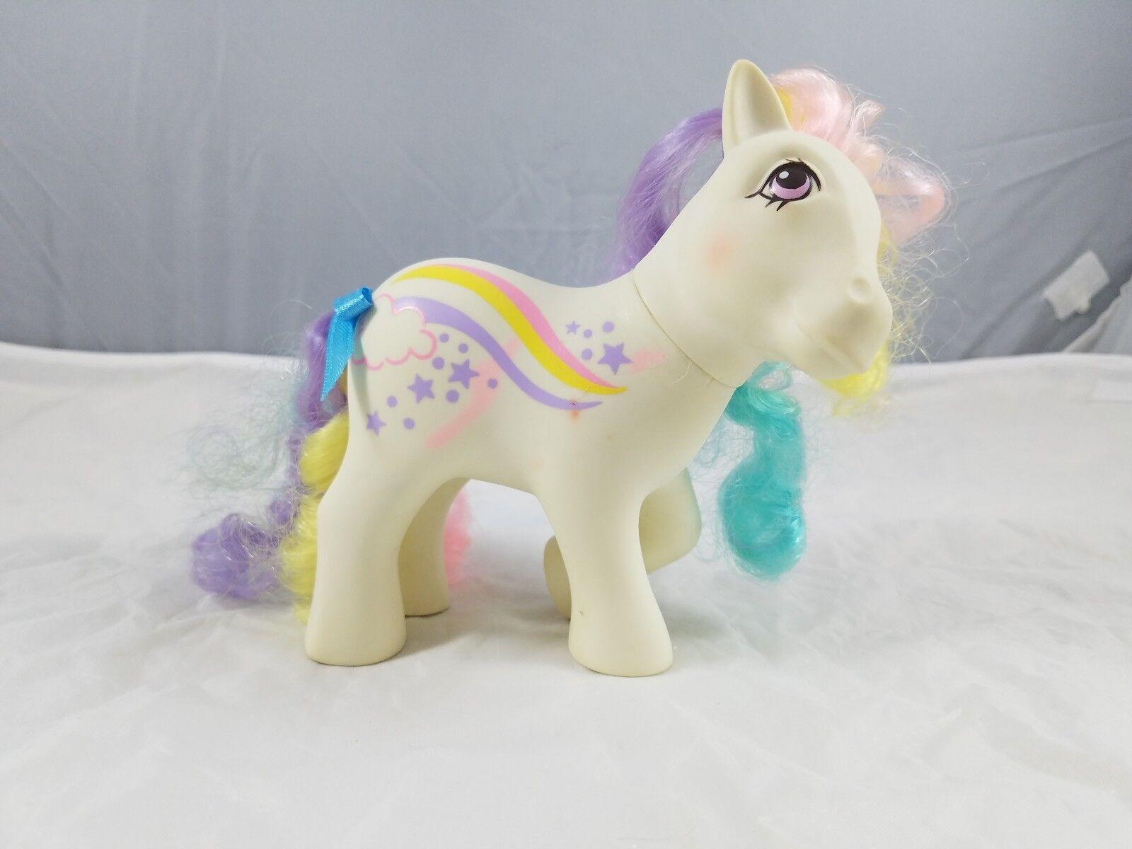My Little Pony Vintage Ponies G1 rainbow curl Raincurl