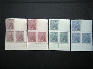 Germany Nazi 1942 Stamps MNH Block Adolf Hitler 53th birthday WWII B&M Third Rei