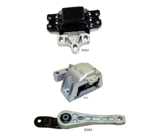 Mount For 2006-2010 Volkswagen Jetta 2.0L 3 PCS Motor /& Trans