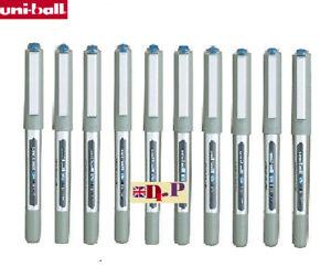 Uni-ball Eye UB-157 Rollerball Pen Fine 0.7mm Tip 0.5mm Line  BLUE INK SET