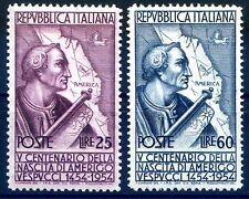 ITALIA 1954 - VESPUCCI  SERIE NUOVA  **