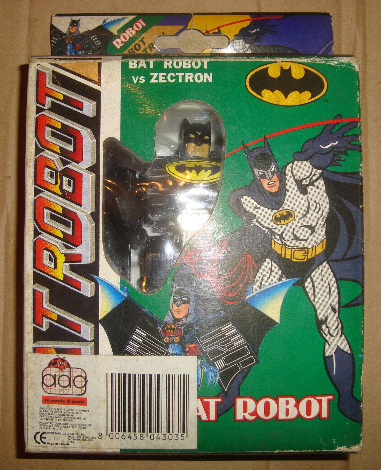 BATMAN BAT ROBOT FIGURE BOOTLEG ADG ANNI '90