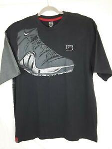 98dfb35a95b2 Nike Basketball Men's Black T SHIRT L23 LaBron James I've Been a ...