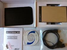 "2.5"" SATA Laptop Hard Drive USB Data Transfer CLONE KIT + CD disk"