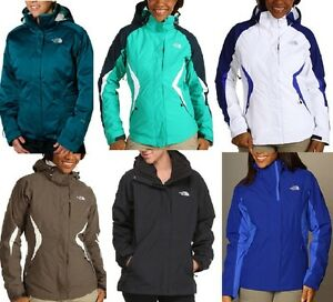 01204fa1b3bd The North Face Women s TriClimate Jacket 3 in1 Coat-Boundary Osito ...