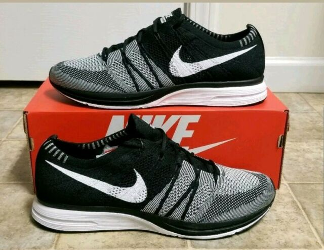 eedff5d4b3b9 Nike Flyknit Trainer Black White Ah8396 005 Men 13 for sale online ...