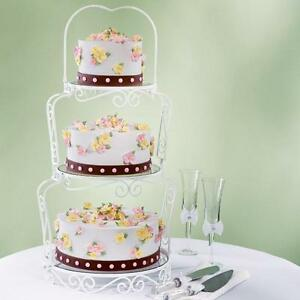 2 tier floating wedding cake stand wilton graceful tiers cake stand wedding cake stand 3 10131