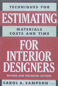 Estimating-For-Interior-Designers-by-Carol-A-Sampson-Paperback-2001