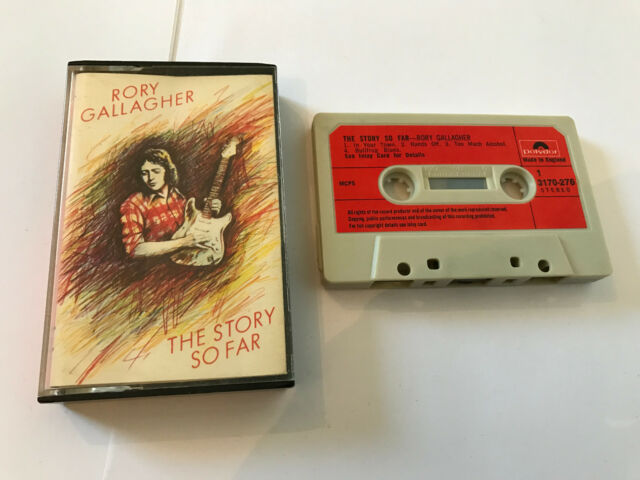 Rory Gallagher – The Story So Far : Polydor – 3170 276 RARE TAPE: Cassette,