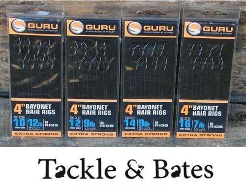 Guru 4/'/' MWG Bayonet Rigs All Sizes Match Coarse Feeder Fishing