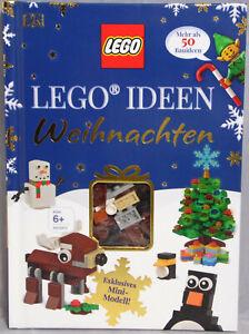 LEGO-Buch-Ideen-Weihnachten-mehr-als-50-Bauideen-Rentier-Bausatz-Exclusiv-NEU