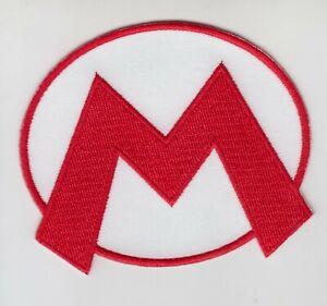 """Mario Bros MARIO 3/"""" Embroidery Iron-on Patch E11"""