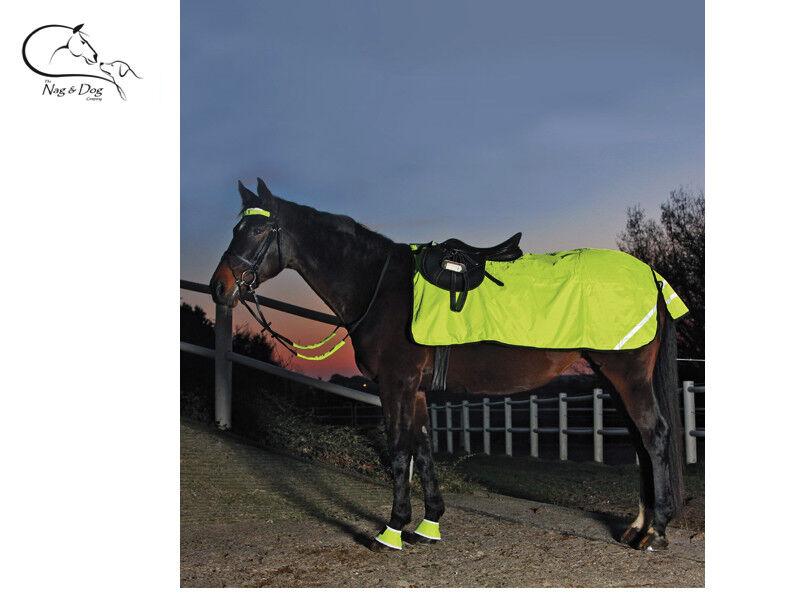 Waldhausen Waterproof HI Vis EXERCISE SHEET SAFETY Flourescent Yellow FREE P&P