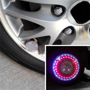 Automobiles & Motorcycles Solar Car Auto Led Flash Light Wheel Valve Stem Cap Tire Motion Neon Light