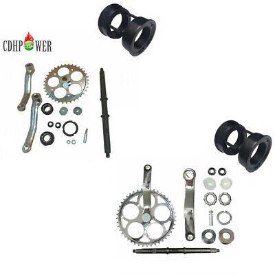 CDHPOWER Bottom Bracket Cup Set for 3pcs Cranksets 66cc//80cc Motorized Bicycle