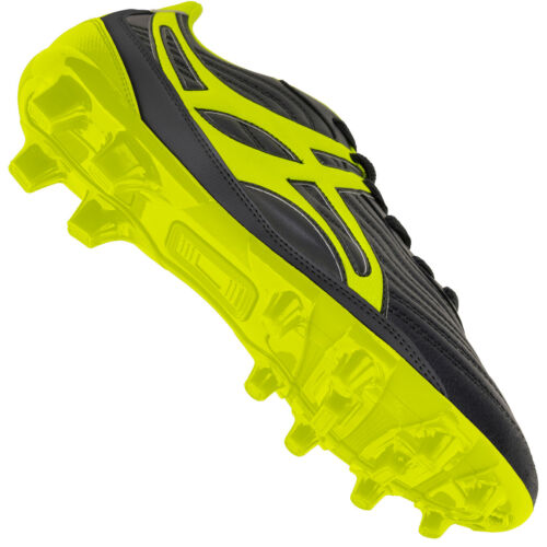 Clearance New Gilbert Rugby Boots Sidestep V1 MSX Black//Yellow size UK 8.5
