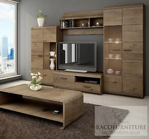 Image Is Loading TV Wall Unit 034 LENA 034 Set Of