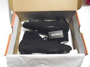 af542f7a51bd92 NIB Nike Hypervenom Phelon 3 DF FG Men s Soccer Cleats Triple Black ...