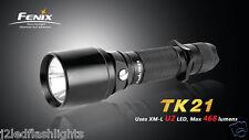 Fenix TK21 Cree XM-L U2 468 Lumens  LED Flashlight